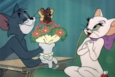 "Toodles Galore in cartoon movie ""Casanova Cat"" ... Tom and Jerry"