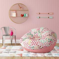 39 Comfort Bean Bag Chair Design - Modul Home Design Oversized Bean Bag Chairs, Girls Bedroom, Bedroom Decor, Bedroom Ideas, Bedrooms, Bean Bag Seats, Kids Bean Bags, Kids Bean Bag Chairs, Girls Bean Bag