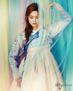 Girl Fix • koreanmodel: Han Eu Ddeum by Kim Ji Won for My...