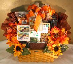 Fall themed gift basket