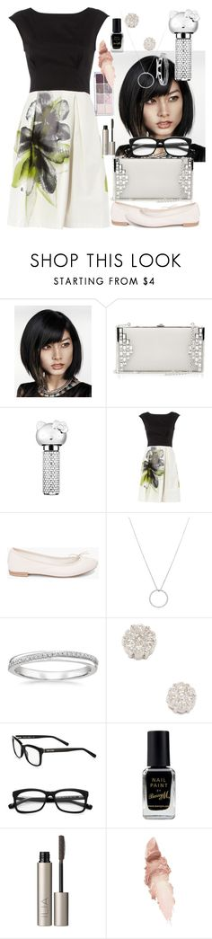 """""""Contrast sets a very slim line"""" by mariamehau ❤ liked on Polyvore featuring Judith Leiber, Hello Kitty, Dorothy Perkins, Repetto, Roberto Coin, Bobbi Brown Cosmetics, Barry M, Ilia and Maybelline"""