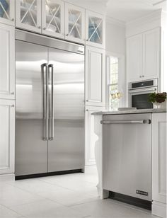 "Jenn-Air® 48"" Fully Integrated Built-In Side by Side Refrigerator from Jenn-Air  http://www.homeportfolio.com/contest/your-perfect-kitchen-questionnaire"