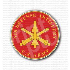 Air Defense Artillery US Army Sticker