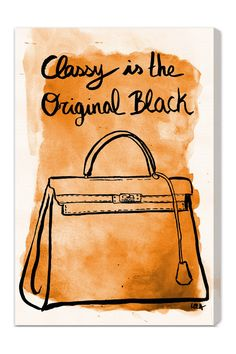 Classy is the original black