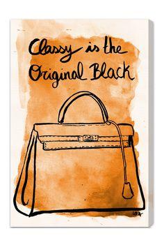 Classy is the original black