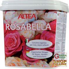 ALTEA ROSABELLA CONCIME ORGANICO GRANULARE PER ROSE, SIEPI E ARBUSTI kg. 3,5 http://www.decariashop.it/concime-organico/459-altea-rosabella-concime-organico-granulare-per-rose-siepi-e-arbusti-kg-35.html