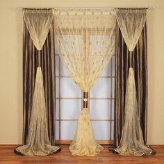 Egy egyszerű függöny is lehet mutatós az ablakodon, ha így használod! Szebbnél-szebb ötleteket mutatunk!