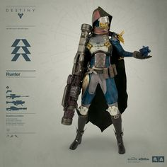 Badass 'Destiny' Warlock And Hunter Action Figures Are Incoming