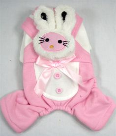 Cutest. Easter bunny. outfits. EVER! Pink for Ruth and maybe a blue or green for Chico? @ http://allthisnoise.tumblr.com #clothing #apparel #women #women clothing