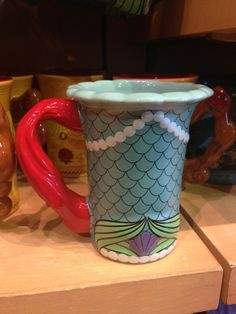 DisneyLifestylers – New Disney Princess + Villains Mug Collection Ariel mug