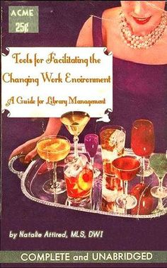 Professional Library Literature : simplebooklet.com.  What are all the cocktails for?!