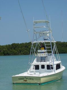 """Time Flies"" Bertram 31 owned by Patrick Nutt of Marathon, FL"
