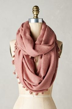 Anthropologie Casco Infinity Scarf #anthrofave