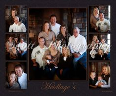 Heidlage Family Collage!  www.scottphotography.biz