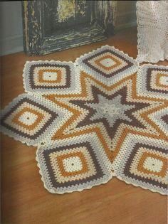 Irish crochet &: RUGS ....... КОВРЫ