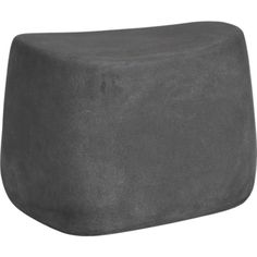 Large Stone Stool in Outdoor Lounging | Crate and Barrel