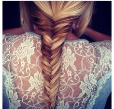 Perfect high and low lights! Love the braid!