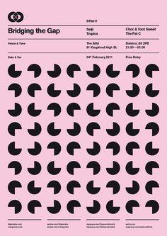 BTG Poster Series by Ross Gunter, via Behance