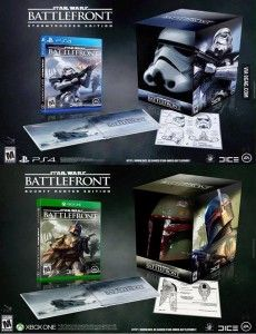 This fan made collectors edition is sooo sick I would love that boba helmet !!!!