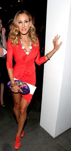 #SJP | Sarah Jessica Parker | Fashion Icon | I want everything this woman has ever worn. http://www.noellesnakedtruth.com/