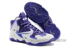Nike LeBron 11 White Court Purple For Sale Online Z2nCkps 244eab66e