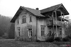 Abandoned house in Svarstad, Vestfold, Norway