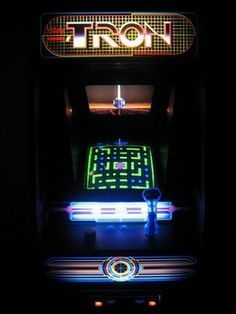 TRON is a coin-operated arcade video game manufactured and distributed by Bally Midway in 1982. It is based on the movie, TRON which was released in the same year. The game is made up of four segments, each of which are based on scenes from the movie. The game earned more than the film's initial release. #Tron #Arcade #BallyMidway #Retrogaming