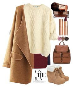 """""""134"""" by erohina-d ❤ liked on Polyvore featuring LaMarque, JustFab, Vita Liberata and Charlotte Tilbury"""