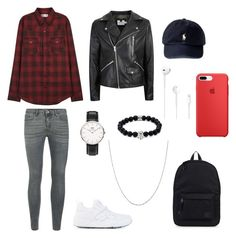 """men's  polyvore"" by jesy-smith on Polyvore featuring Topman, Yves Saint Laurent, Puma, Daniel Wellington, Pori, Polo Ralph Lauren, Herschel Supply Co., Northskull, men's fashion et menswear"