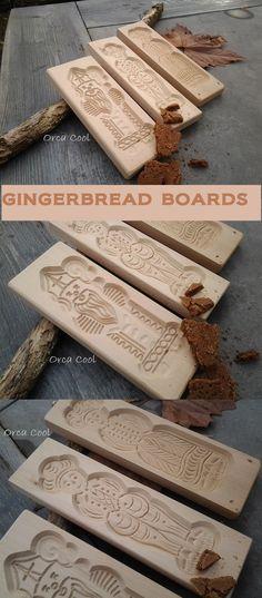Gingerbread Board - Speculaasplanken  #Bakeware |OrcaCool