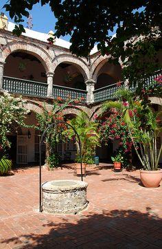 Cartagena de Indias, Colombia una de las viejas casonas de la ciudad vieja