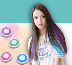 Hot 4 Colors Non-Toxic Temporary Hair Chalk