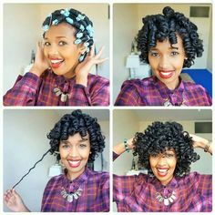 // Perm rod set on natural hair. Perm rods give naturals the best curls EVER. Pelo Natural, Natural Hair Tips, Natural Hair Journey, Natural Hair Styles, Au Natural, Permed Hairstyles, Cool Hairstyles, Love Hair, My Hair