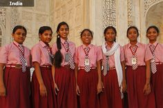 School Uniforms around the World - India