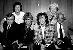 In memory of George Michael /George and Andrew with their parents