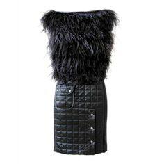 Get LADY GAGA's Viktor & Rolf Black Dress thumbnail 1