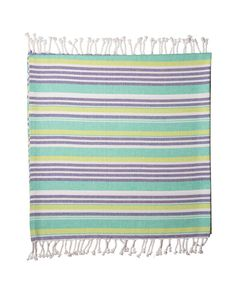Turquoise Vibes Turkish beach towel by Noosa Living & available through Heel to Toe