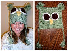 adorable owl beanie
