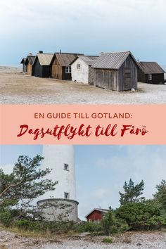 en guide till gotland fårö Family Kitchen, Kitchen Recipes, Beautiful Islands, Road Trip, Guide, Spring, Ideas, Light House, Tatuajes