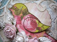 OOAK Plaque From My Bird Collection.