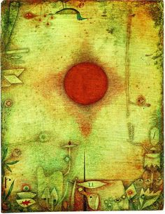 paul klee _ ad marginen (1930): a natural draftsman who experimented with and eventually mastered color theory