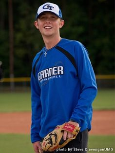 Scotty McCreery, multi-award winning Country music singer, is the baseball pitcher for his Garner Magnet High School. Scotty's recent baseball game became scary for everyone and could have put a stop to his singing career.