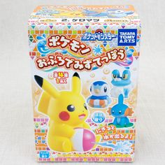 Pokemon Froakie Keromatsu Water Gun Mini Figure Takara Tomy JAPAN ANIME MANGA #Takara