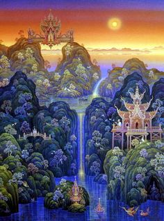 Thai Temple Art ~