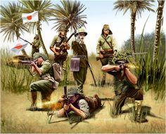 Esercito Imperiale Nipponico - Fanteria - Vincenzo Auletta