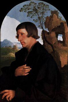 Portrait d'un homme, Jan Van Scorel