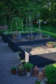 Hillside Garden, Potager Garden, Garden Paths, Garden Beds, Colonial Garden, Vegetable Garden Design, Edible Garden, Garden Inspiration, Backyard Landscaping
