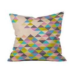 Bianca Green Completely Incomplete Throw Pillow