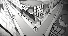 DeviantArt: More Like 3-Point Perspective: Pokemon City by WorldHero