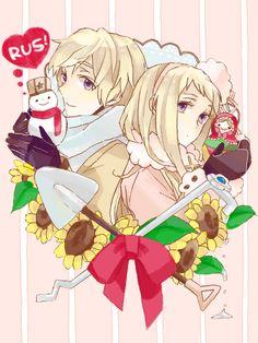 Russia x Fem!Russia